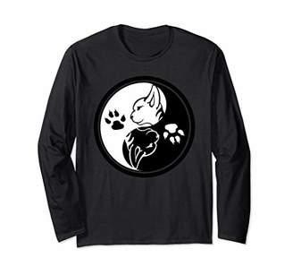Yin & Yang Yin Yang Cats Shirt | Funny Women Cat Animal T-Shirts
