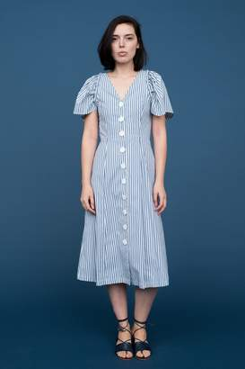 Sea Riviera Button Dress