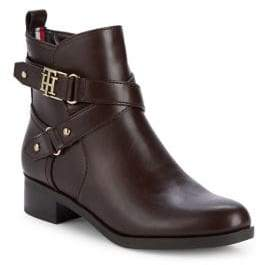 Tommy Hilfiger Palmira Wrapped Moto Boots