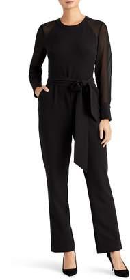 Rachel Roy Collection Chiffon Sleeve Jumpsuit