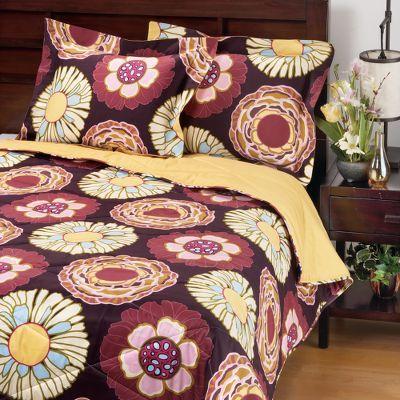 Purple Capri Cotton Bedding
