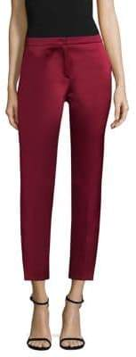 Escada Duchess Satin Ankle Pants