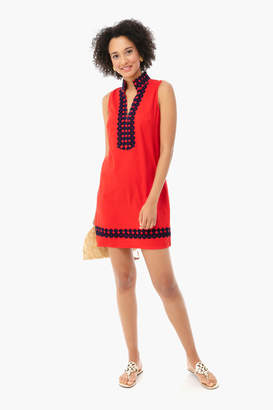 Sail to Sable Red Sleeveless Classic Tunic