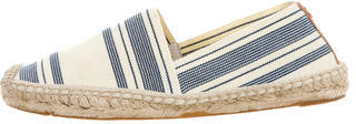 Tory Burch Tory Burch Striped Espadrille Flats