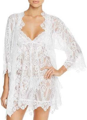 Jonquil Wrapper Lace Robe $120 thestylecure.com