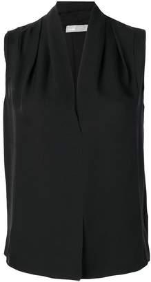 Vince v-neck sleeveless blouse