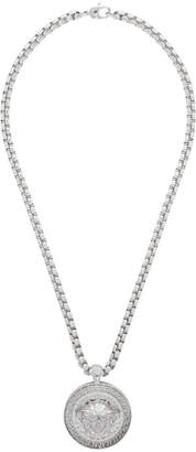 Versace Silver Medusa Necklace