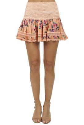 Saint Tropez Sunday Sunday Saint-Tropez Clarinette Print Skirt
