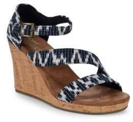 Toms Claris Wedge Sandals