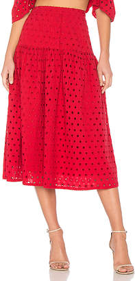 Paper London Plage Fiesta Skirt