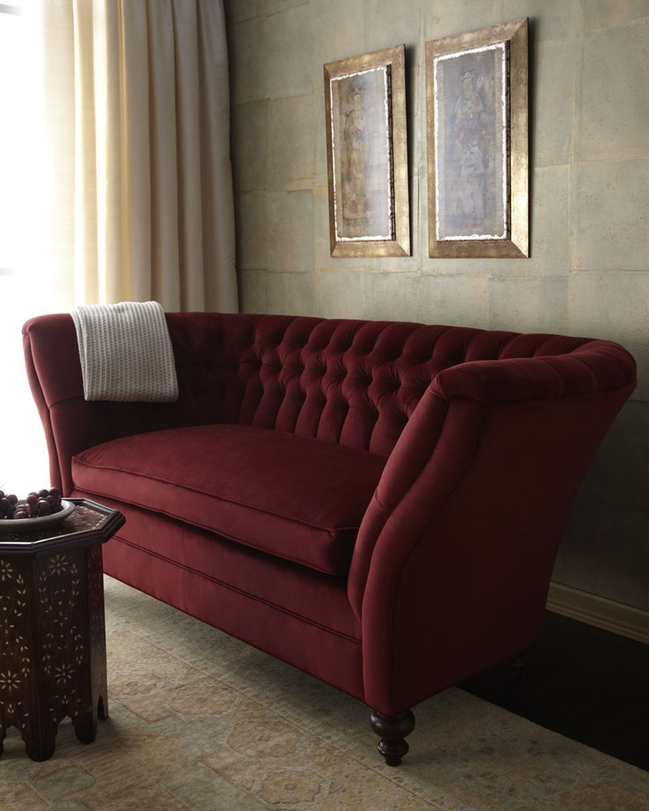 Old Hickory Tannery Tufted Sofa