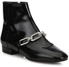 Michael Kors Collection Lennox Patent Leather Booties