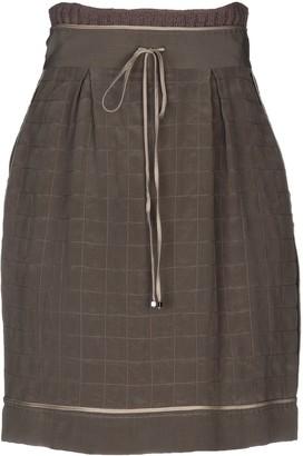 Cruciani Knee length skirts