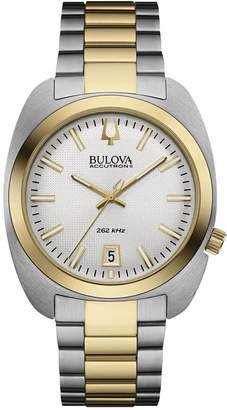 Bulova Men's Accutron Ii Two-Tone Stainless Steel Bracelet Watch 40mm 98B272