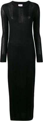 Barrie long knitted dress
