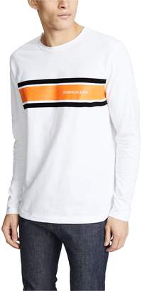 Calvin Klein Jeans Placement Long Sleeve Stripe Tee