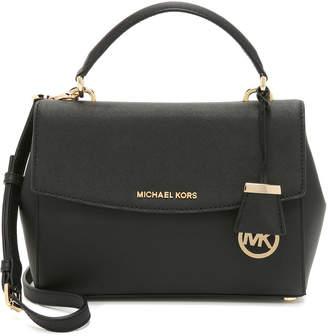MICHAEL Michael Kors Ava Small Satchel $268 thestylecure.com