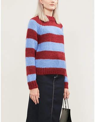 Samsoe & Samsoe Simone striped knitted jumper