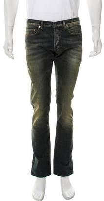 Christian Dior Five Pocket Straight-Leg Jeans