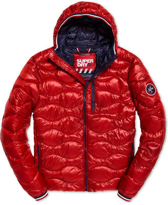 Superdry Men's Wave Quilted Hooded Jacket