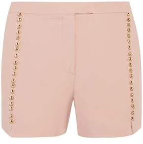 Elie Saab Button-Detailed Crepe Shorts