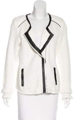 Townsen Asymmetrical Open Knit Jacket