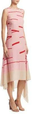 Akris Silk Geometric Dress