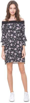 Juicy Couture Beverly Garden Ruffle Sleeve Dress