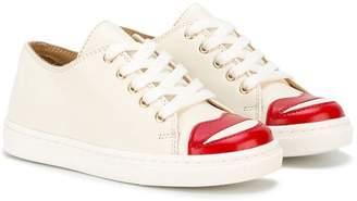 Charlotte Olympia Kids Incy Kiss Me sneakers