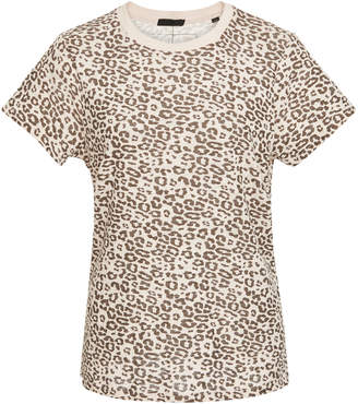 ATM School Boy Leopard-Print Cotton T-shirt