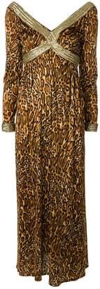Great Unknown leopard print maxi dress