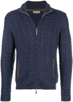 N.Peal The Richmond cable knit cardigan