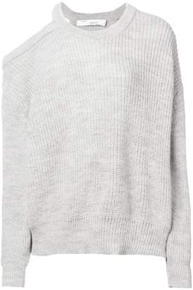 IRO asymmetric cold shoulder jumper