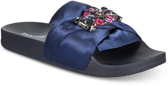 Kenneth Cole Reaction Women's Pool Jewel Flat Sandals Women's Shoes