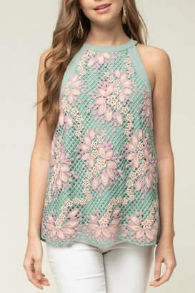 Entro Crochet Lace Tank