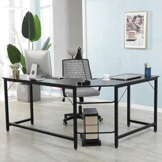 LivEditor L-Shaped Desk Corner Computer Desk LivEditor