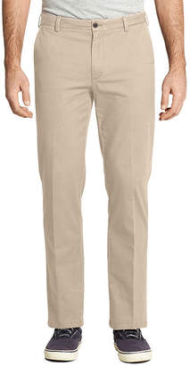 Izod Mens Mid Rise Straight Fit Flat Front Pant