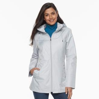 Details Women's Hooded Lightweight Rain Jacket