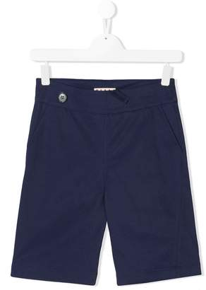 Marni (マルニ) - Marni Kids elasticated-waist chino shorts