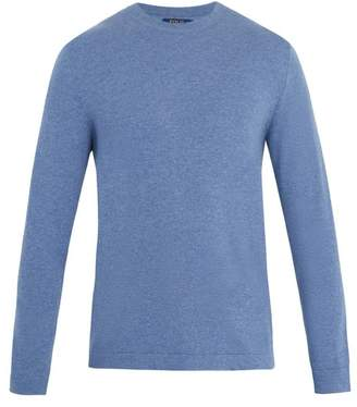 Polo Ralph Lauren - Crew Neck Cashmere Sweater - Mens - Light Blue