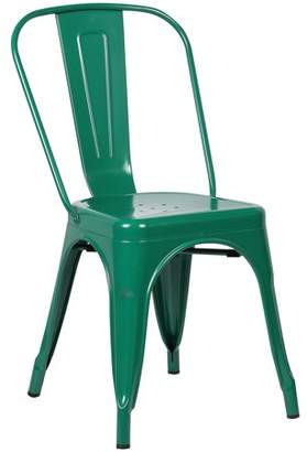 Poly and Bark Trattoria Side Chair in Dark Green