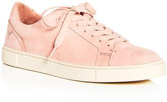 Frye Women's Ivy Nubuck Leather Lace Up Sneakers
