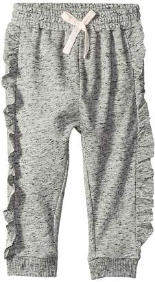 Splendid Littles Always Ruffle French Terry Jogger Girl's Casual Pants