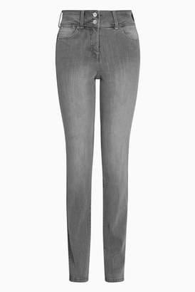 Next Womens Mid Blue Enhancer Slim Jeans