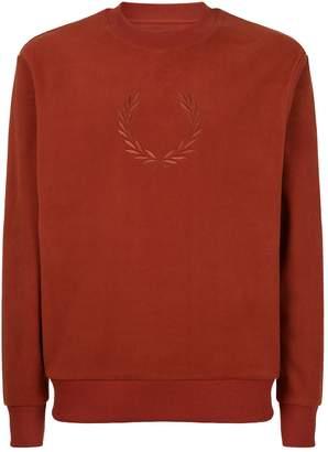Fred Perry Logo Fleece Sweatshirt