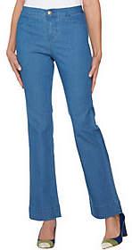 C. WonderC. Wonder Petite Denim Boot Cut Fly Front Jeans