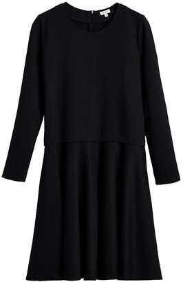 Cuyana Ponte Long Sleeve Dress
