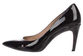Diane von Furstenberg Patent Leather Pointed-Toe Pumps