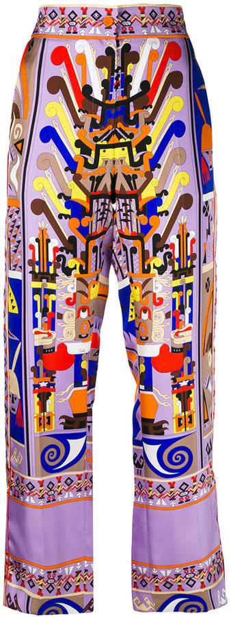 Emilio PucciEmilio Pucci printed pyjama trousers