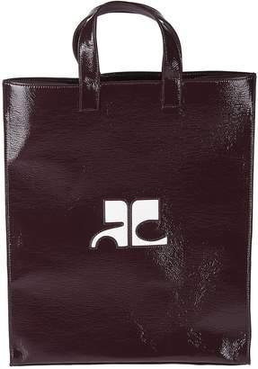 Courreges Logo Shopper Bag